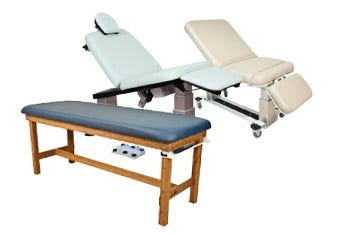 exam and treatment tables oakworks