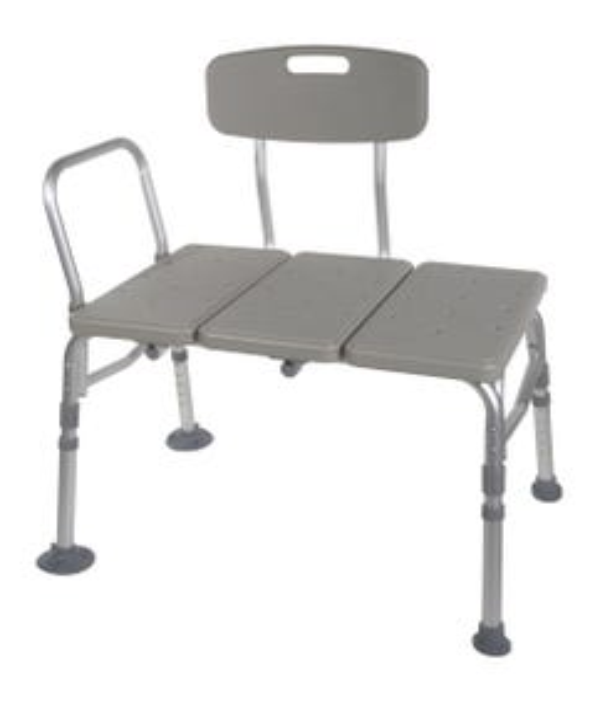 Drive 12011kd-1 Plastic Transfer Bench with Adjustable Backrest