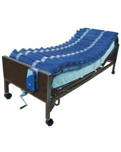 """Test_Bed Drive 14025n 5"""" Med Aire Low Air Loss Mattress Overlay System with APP"""