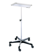 Blickman 1501 Chrome Instrument Stand with 5 Legs, 0661501000