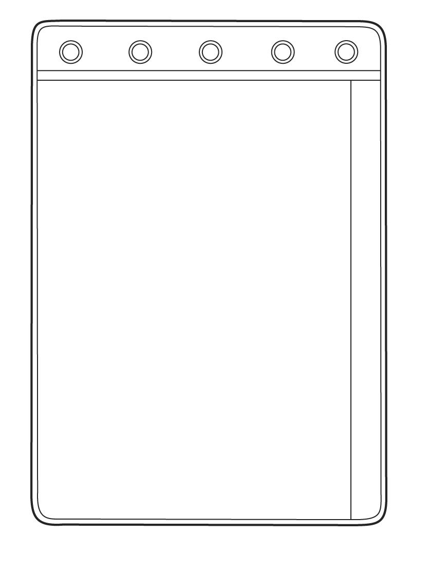 Omnimed 1 Pocket Sheet Protector