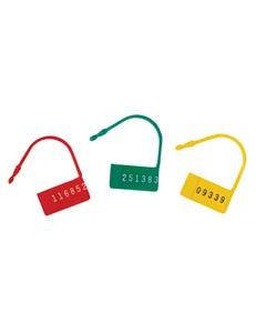 Omnimed Safety Contol Seals W/ Numbers