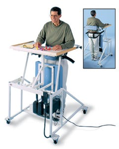Hausmann 6175 Hi-Lo Econo-Line Stand In Table W/Electric Lift