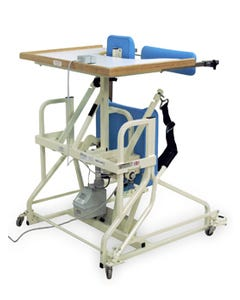 Hausmann 6180 Hi-Lo Stand In Table W/Electric Patient Lift