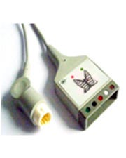 Tenacore Refurbished Equivalent of Philips AAMI 5-Lead Dual Socket ECG 9 ft. Trunk Cable