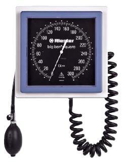 Riester Big Ben Square Latex Free Aneroid Sphygmomanometer w/ Adult Velcro Cuff