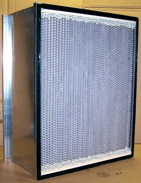 Allerair I-6500 Gel/HO Negative Air Machine 12 in. Gel HEPA Filter w/ Frame