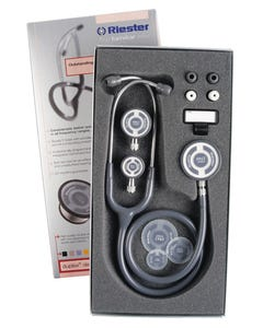 Riester Tristar Latex Free Stethoscope w/ 3 Double Chest Pieces