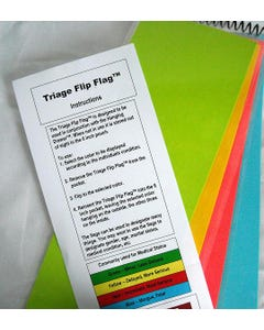 Integrity Medical Solutions Westcot Triage Flip Flag