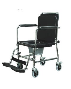 [PRODUCT ON BACKORDER] Graham Field Lumex Versamode Mobile Drop-Arm Commode Chair W/ 300 lb. Weight Capacity