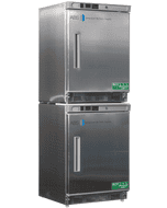 American BioTech Supply Stainless Steel Refrigerator/Freezer Combination, ABT-HCRFC9SS