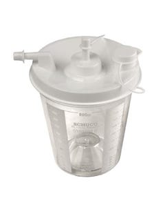 Allied Healthcare 800CC Plastic Replacement Canister (5/cs)