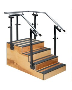 Clinton 4-6501-30 Adjustable One-Side Physical Therapy Staircase