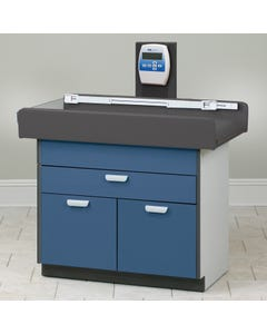 Clinton 7830 Pediatric Treatment Table W/ Digital Scale, Drawer & Storage Area