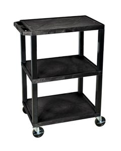 H. Wilson WT34 Tuffy Utility Cart with 3 Shelves