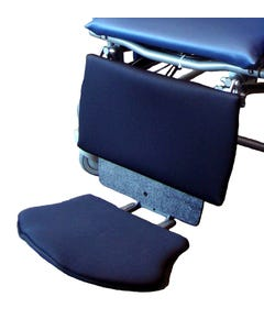 Broda Seating ABS Footrest with Neoprene Calf and Sole Pad