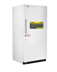 American BioTech Supply Standard Flammable Storage Refrigerator/Freezer Combination, 30 Cu. Ft., ABT-FRCS-30