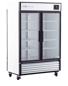 American BioTech Supply Premier Pass Through Laboratory Refrigerator