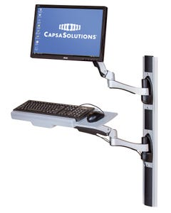 Capsa Healthcare 202006K AX Series Monitor Arm and Wall Mount