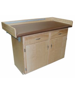 Bailey 498 Exam Table Pediatric with Cabinet