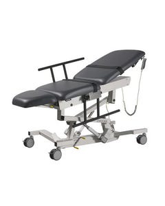 Biodex 058-720 Ultra Pro Height Adjustable Ultrasound Table W/ 5 in. Individual Locking Swivel Casters