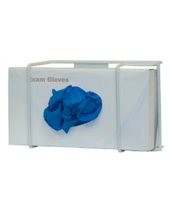 Bowman GL011-0613 Glove Box Dispenser - Single - White Coated Wire (Pack of 2)