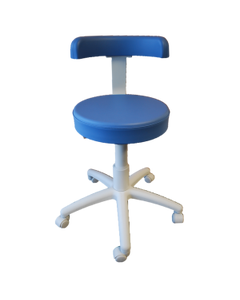BR Surgical BR900-7561 Pneumatic Stool w/ Backrest