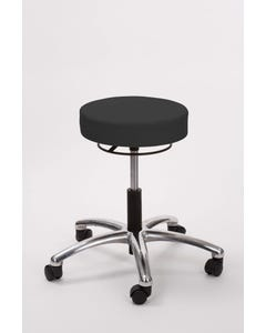 Brandt 17421RR Airbuoy Pneumatic Stool with Ring Release - Black