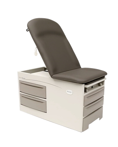 Brewer 5001-SP-CN-21 Access Exam Table, Pneumatic Back, Pelvic Tilt and Drawer Warmer, No Electrical Outlet, Clamshell