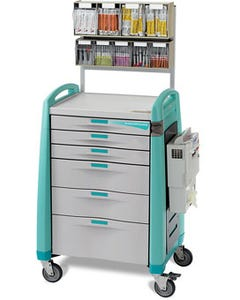 Capsa Healthcare Anesthesia Cart Accessory Package