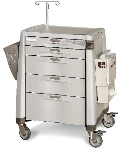 Capsa Healthcare Procedure Cart Accessory Package