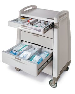 Capsa Healthcare Treatment Cart Accessory Package