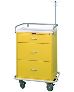 Harloff 6511 Infection Control Cart W/Key Lock, Specialty Package