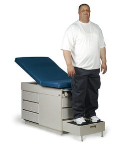Hausmann 4416 X-L Power Back Bariatric Examination Table, 600 lb. Capacity