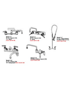 Aero Sink Faucets For NSF & Non-NSF Sinks