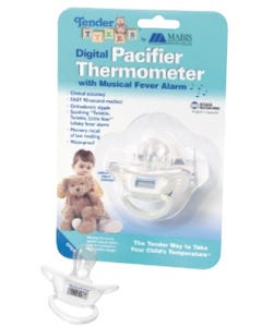 Mabis TenderTYKES Pacifier Digital Thermometer