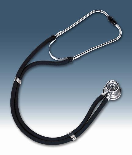 W.A. Baum Sprague Rappaport Latex-Free Stethoscope w/ Chrome Plated Zinc Chestpiece