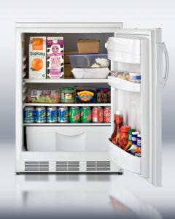 "Summit Appliance FF6 24"" Under-Counter Refrigerator  - Discontinued"