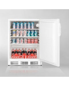 Summit Appliance FF7, Commercial Under-Counter Refrigerator - White