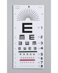TechMed Illiterate Eye Chart, 20 ft