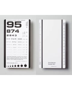 TechMed Pocket Eye Chart