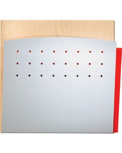 Peter Pepper 4001H File & Medical Chart Holder, Wall/Door Mounted - HIPAA Application