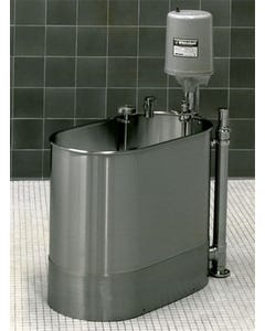 "Stationary Extremity Whirlpool, 28"" x 15"" x 18"" - 22 gallon"