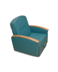 Champion 526 Overnighter Sleeper Chair with Wood Arms