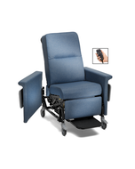 Champion 85 Series Power Medical Recliner/Transporter with Swing-Away Arms