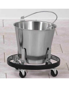 Clinton SS-160 Stainless Steel Kick Bucket and Frame