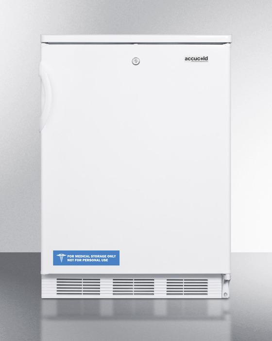 Summit Appliance CT66L Undercounter RefrigeratorW/ Freezer