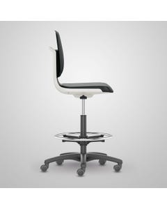 Cramer CTHU3 Citrus High-Height, Med-Tech Chair with Arms, White