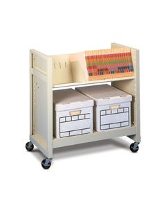 Datum BFC-2 Basic File Cart w/o Laminate Top