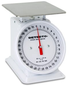 Detecto PT-2R Top Loading Rotating Dial Scale